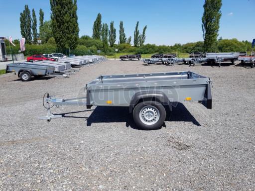 Nebrzděný přívěsný vozík SPC 750kg 2,10x1,31/0,35 č.2
