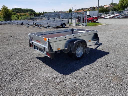 Nebrzděný přívěsný vozík SPC 750kg 2,10x1,31/0,35 č.3