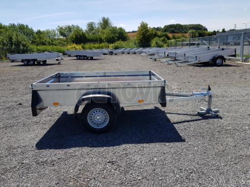 Nebrzděný přívěsný vozík SPC 750kg 2,10x1,31/0,35 č.6