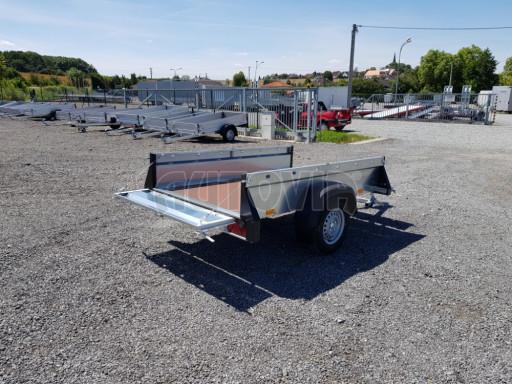 Nebrzděný přívěsný vozík SPC 750kg 2,10x1,31/0,35 č.7