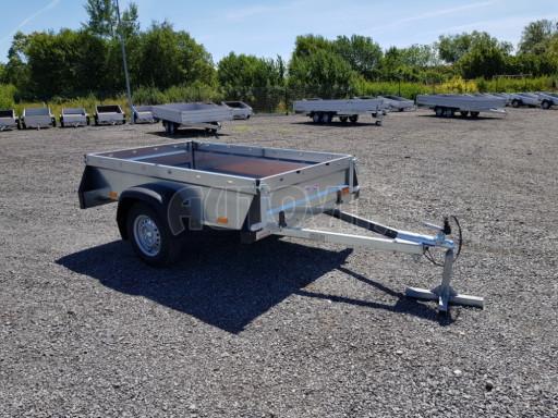 Nebrzděný přívěsný vozík SPC 750kg 2,10x1,31/0,35 č.1