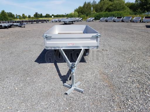 Dvounápravový přívěsný vozík ZV 22 750kg N2 2,55x1,50/0,35** č.2