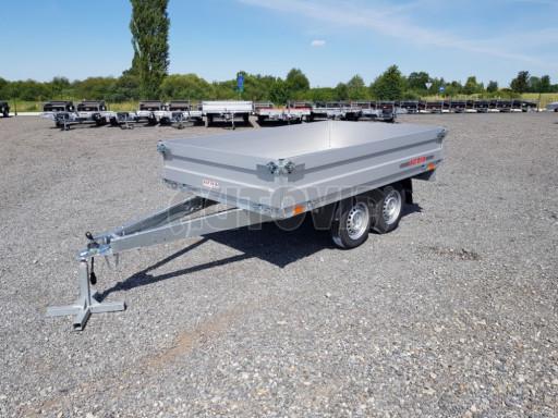 Dvounápravový přívěsný vozík ZV 22 750kg N2 2,55x1,50/0,35** č.1