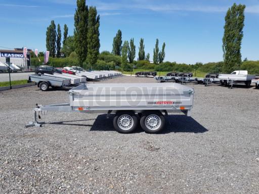 Dvounápravový přívěsný vozík ZV 22 750kg N2 2,55x1,50/0,35** č.3