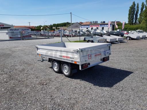 Dvounápravový přívěsný vozík ZV 22 750kg N2 2,55x1,50/0,35** č.4