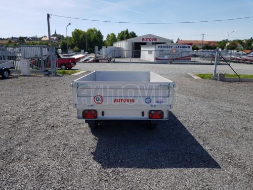 Dvounápravový přívěsný vozík ZV 22 750kg N2 2,55x1,50/0,35** č.5