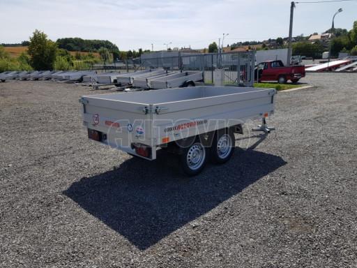 Dvounápravový přívěsný vozík ZV 22 750kg N2 2,55x1,50/0,35** č.6