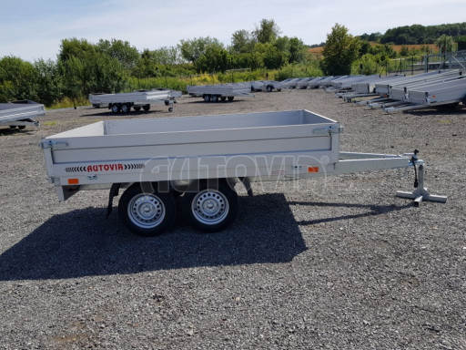 Dvounápravový přívěsný vozík ZV 22 750kg N2 2,55x1,50/0,35** č.7
