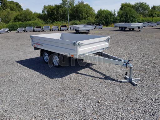 Dvounápravový přívěsný vozík ZV 22 750kg N2 2,55x1,50/0,35** č.8