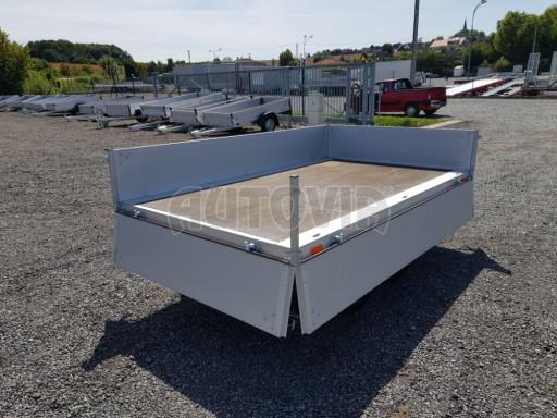 Dvounápravový přívěsný vozík ZV 22 750kg N2 2,55x1,50/0,35** č.9