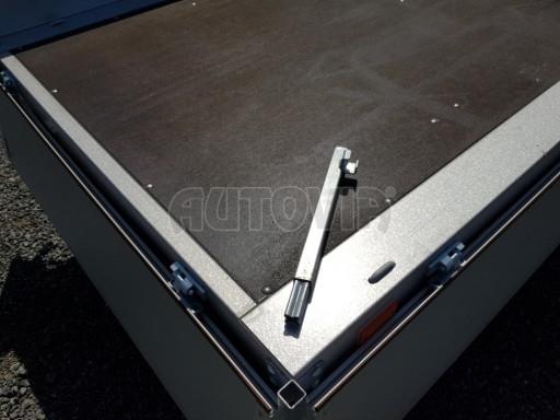 Dvounápravový přívěsný vozík ZV 22 750kg N2 2,55x1,50/0,35** č.10