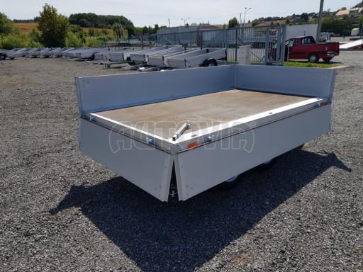 Dvounápravový přívěsný vozík ZV 22 750kg N2 2,55x1,50/0,35** č.11