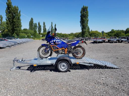 Přívěs na motorku MTV 750 kg 2,45x0,88* č.11