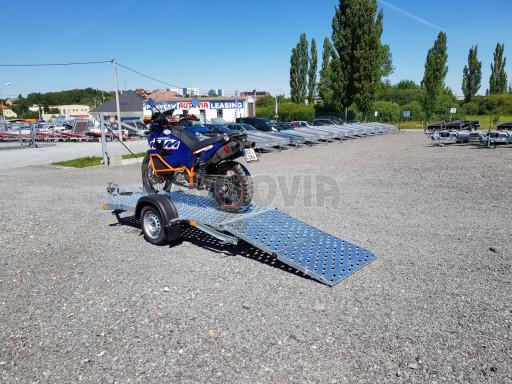 Přívěs na motorku MTV 750 kg 2,45x0,88* č.12