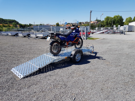 Přívěs na motorku MTV 750 kg 2,45x0,88* č.14