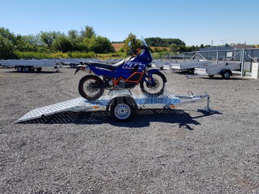 Přívěs na motorku MTV 750 kg 2,45x0,88* č.15
