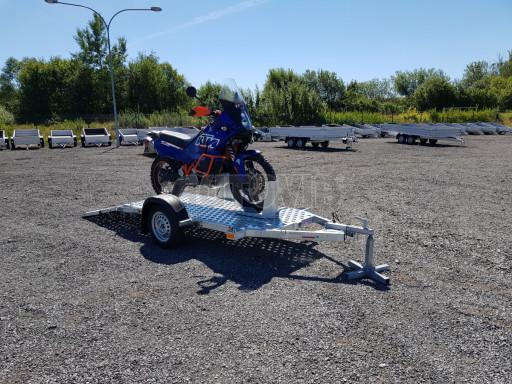 Přívěs na motorku MTV 750 kg 2,45x0,88* č.16