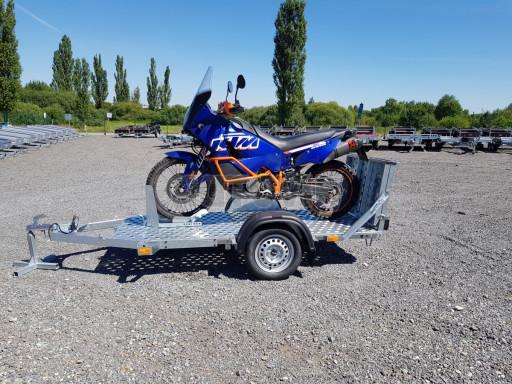 Přívěs na motorku MTV 750 kg 2,45x0,88* č.18