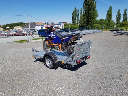 Přívěs na motorku MTV 750 kg 2,45x0,88* č.19