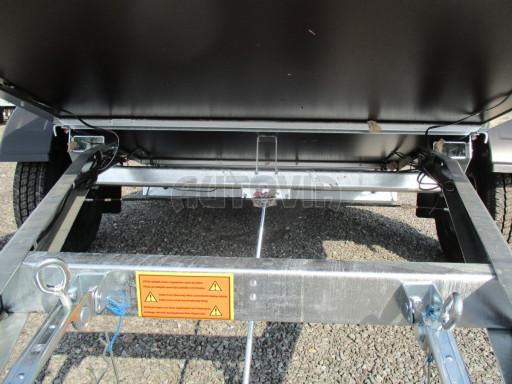 Brzděné naklápěcí plato SP 27 1300kg B1 SK 2,50x1,48* č.22