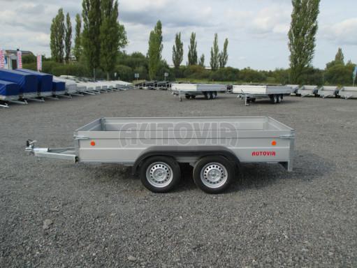 Skladový dvounápravový nebrzděný přívěs ZV 30 ZN 750kg N2 3,02x1,30/0,40 POČ** č.3