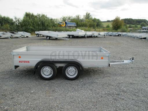 Skladový dvounápravový nebrzděný přívěs ZV 30 ZN 750kg N2 3,02x1,30/0,40 POČ** č.7