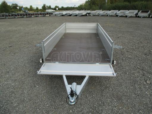 Skladový dvounápravový nebrzděný přívěs ZV 30 ZN 750kg N2 3,02x1,30/0,40 POČ** č.9