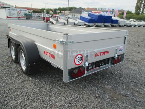 Skladový dvounápravový nebrzděný přívěs ZV 30 ZN 750kg N2 3,02x1,30/0,40 POČ** č.12
