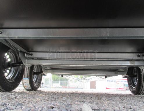 Skladový dvounápravový nebrzděný přívěs ZV 30 ZN 750kg N2 3,02x1,30/0,40 POČ** č.14
