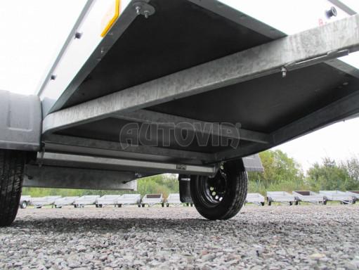 Přívěsný vozík za osobní auto PV BSC 3 750kg N1  2,43x1,09/0,34 č.11