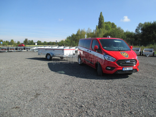 Přívěs pro hasiče  BR 1,35T 3,55x1,50/0,40 č.25