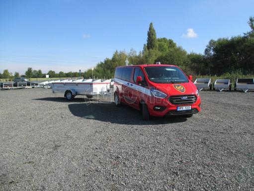 Přívěs pro hasiče  BR 1,35T 3,55x1,50/0,40 č.26