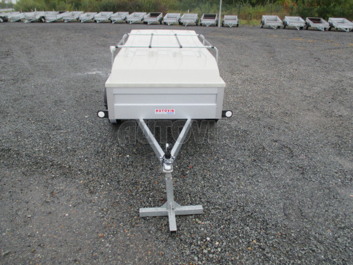 Levný přívěs za osobní auto HD 3 750kg 2,07x1,10/0,50 víko** č.2