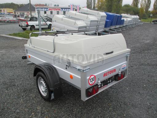Levný přívěs za osobní auto HD 3 750kg 2,07x1,10/0,50 víko** č.5