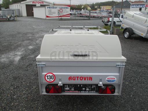 Levný přívěs za osobní auto HD 3 750kg 2,07x1,10/0,50 víko** č.6
