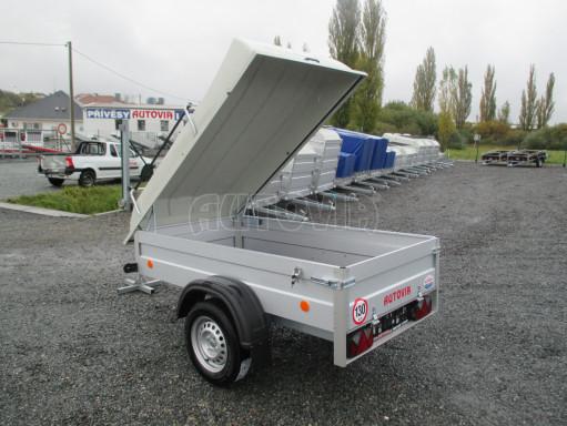Levný přívěs za osobní auto HD 3 750kg 2,07x1,10/0,50 víko** č.11