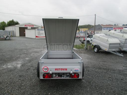 Levný přívěs za osobní auto HD 3 750kg 2,07x1,10/0,50 víko** č.12