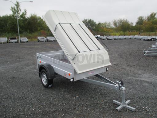 Levný přívěs za osobní auto HD 3 750kg 2,07x1,10/0,50 víko** č.1