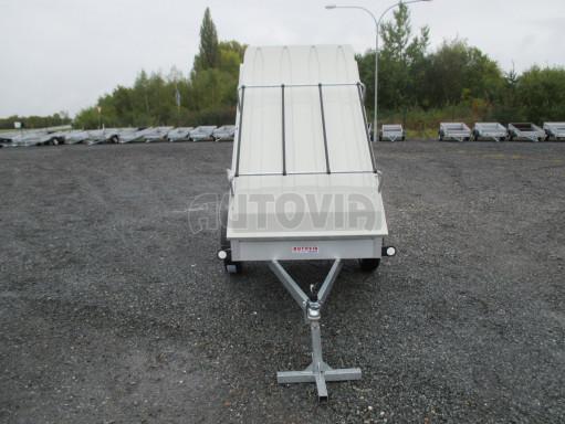 Levný přívěs za osobní auto HD 3 750kg 2,07x1,10/0,50 víko** č.15