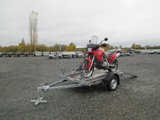 Přívěsný vozík PV 750 pro 2 motocykly 2,11x1,55 č.1