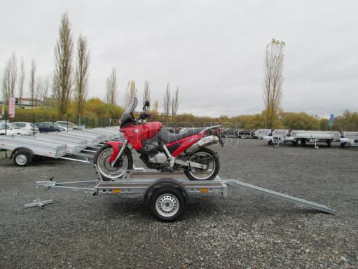Přívěsný vozík PV 750 pro 2 motocykly 2,11x1,55 č.3