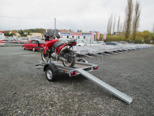 Přívěsný vozík PV 750 pro 2 motocykly 2,11x1,55 č.4
