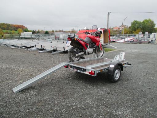Přívěsný vozík PV 750 pro 2 motocykly 2,11x1,55 č.6