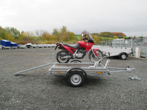 Přívěsný vozík PV 750 pro 2 motocykly 2,11x1,55 č.7