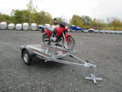 Přívěsný vozík PV 750 pro 2 motocykly 2,11x1,55 č.8