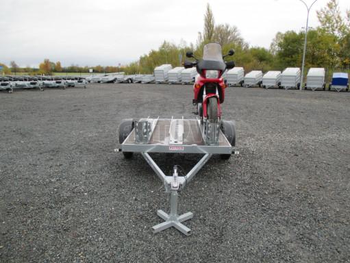 Přívěsný vozík PV 750 pro 2 motocykly 2,11x1,55 č.9