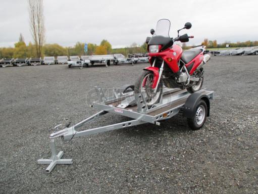 Přívěsný vozík PV 750 pro 2 motocykly 2,11x1,55 č.10