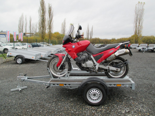 Přívěsný vozík PV 750 pro 2 motocykly 2,11x1,55 č.11