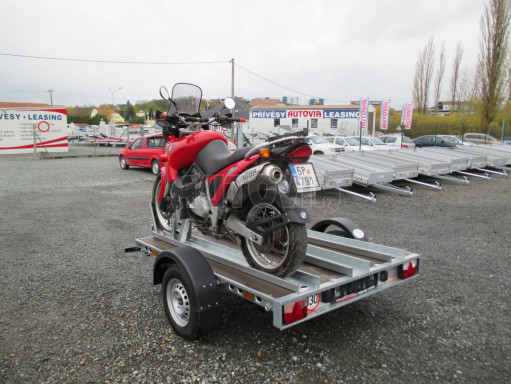 Přívěsný vozík PV 750 pro 2 motocykly 2,11x1,55 č.12