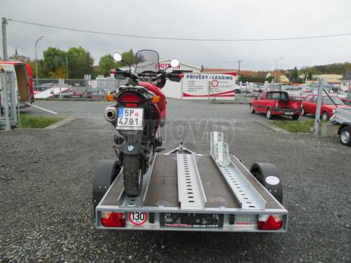 Přívěsný vozík PV 750 pro 2 motocykly 2,11x1,55 č.13